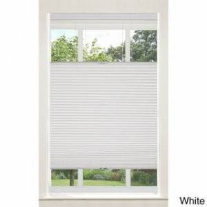 Achim Top-down/ Bottom-up Cordless Honeycomb Cellular Shade (White - 39 x 64 - 30 - 39 Inches)