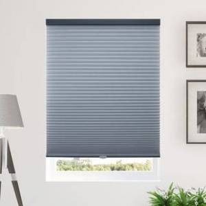 "Chicology Cordless Cellular Shades, Privacy Single Cell Window Blind (38""W x 64""H - Morning Ocean (Privacy & Light Filtering))"