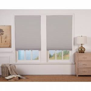Copper Grove Yerevan Grey/White 72-inch Long Cordless Blackout Cellular Shade (37 x 72)
