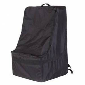 Quickway Imports Black Children's Car Seat Travel and Storage Backpack Bag (Black)