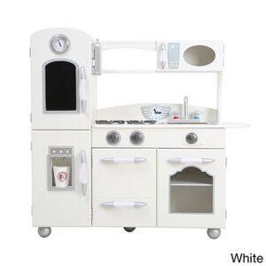 Teamson Design Corp Teamson Kids - Little Chef Westchester Retro Play Kitchen (White)