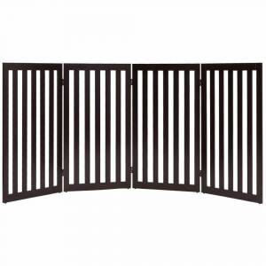 LivEditor Fireplace Fence Pet Cat Dog Baby Safety Care BBQ Hearth Metal Gate (Iron)