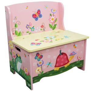 Teamson Design Corp. Fantasy Fields - Magic Garden Storage Bench (Multi)