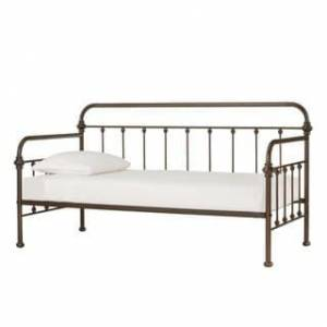 iNSPIRE Q Giselle Antique Graceful Lines Iron Metal Daybed by iNSPIRE Q Classic (Bronze)