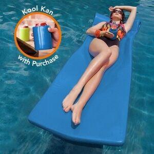 TRC Texas Rec Super Soft Kool Pool Float and Kan (Bahama Blue)