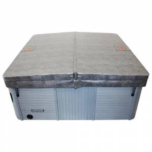 Canadian Spa Company Canadian Spa Square Hot Tub Cover Only with 5in/3in Taper - Grey (86in x 86in)