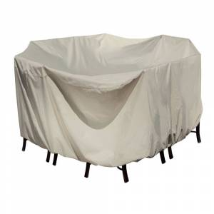 Island Umbrella Winter Cover for 54-in Round Table/Chair (Champagne)