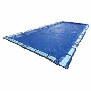 Blue Wave Gold Series Rectangular In Ground Winter Pool Cover (30 ft x 50 ft)