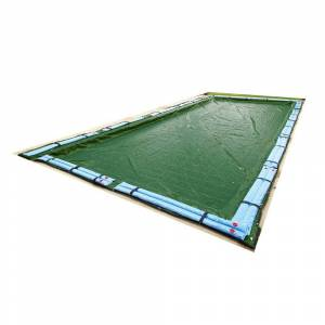 Blue Wave 12-Year Rectangular In Ground Winter Pool Cover (16' x 24')