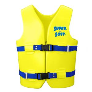 U.S. Coast Guard Approved Youth Vest - Bright Yellow (Yellow)