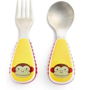 Skip Hop Zootensils Fork & Spoon Set - Monkey