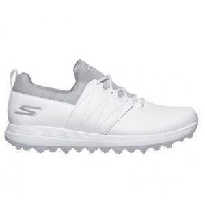 Skechers Women Go Golf Eagle - Honey Spikeless Golf Shoes (White/Gray - 8.5)