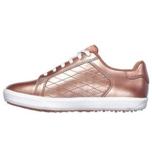 Skechers Women Go Golf Drive - Shine Spikeless Golf Shoes (8.5)