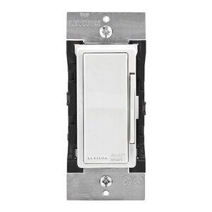 Leviton  Decora  15 amps 600 watts Apple Home Kit WiFi  Smart Switch  White, Ivory, Light Almond