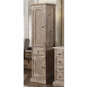 "Infurniture Driftwood 79-inch Side Cabinet (79"" Wooden Side Cabinet)"