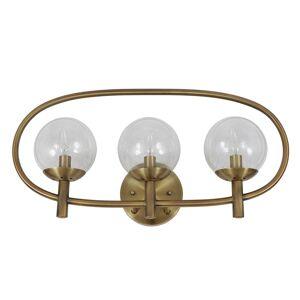 Dcor Therapy Globe 3-light Sconce