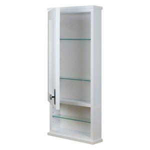 Overstock Surface Mount Shaker Open Shelf Medicine Storage Cabinet (29.5h x 15.5w x 3.25d)