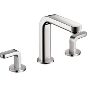Hansgrohe Metris S Chrome Widespread Faucet with Lever Handles (Chrome)