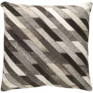 Surya Carpet Decorative Rochefort 18-inch Feather Down or Poly Filled Throw Pillow (Polyester)