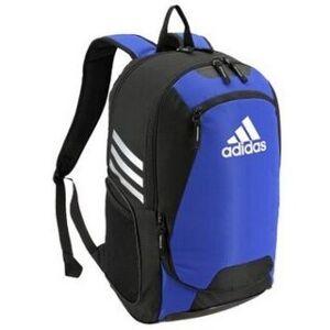 "Adidas Stadium II Backpack Fits Soccer Ball Sport Bag 4 Gym Color Options 5144 - 12""L x 9.5""W x 20""H (Royal)"
