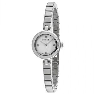 Gucci Women's  'Diamatissima' Diamond Stainless Steel Watch - STAINLESS STEEL (Gucci Women's YA141503 Stainless steel)