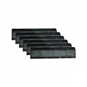 Overstock 6 Pack Battery For Toshiba PA5024U-1BRS - Fits Satellite Pro C800 L800 M800 P800 (Black)