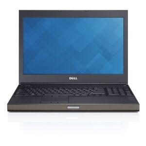 Dell Precision M4800 15.6-in Refurb Laptop - Intel i7 4910MQ 4th Gen 2.90 GHz 16GB 256GB SSD DVD-RW Windows 10 Pro - Webcam (Black)