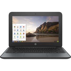 "HP Chromebook 11 G4 11.6"" 4GB 16GB Intel Celeron N2840 X22.16GHz,Black (Refurbished) (Black)"
