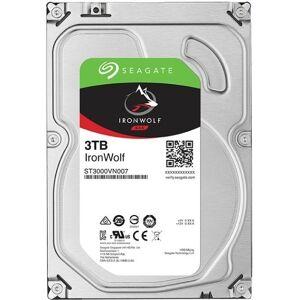 """Seagate Bulk Seagate IronWolf ST3000VN007 3 TB Hard Drive - 3.5"""" Internal - SATA (SATA/600)"""