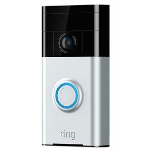 Ring Video Doorbell Wifi Satin Nickel