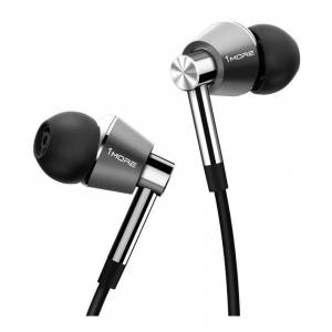1MORE Triple Driver Wired In-Ear Headphones (Titanium)