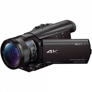 Sony FDR-AX100 4K Ultra HD Black Camcorder with 1-inch Sensor (Sony FDR-AX100 4K Ultra HD Black Camcorder)