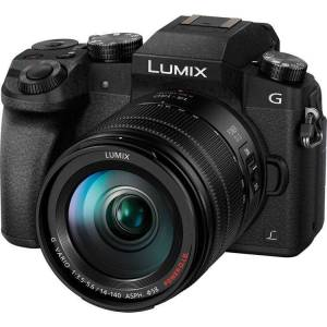 Panasonic LUMIX DMC-G7HK Digital Single Lens Mirrorless Camera 14-140 mm Lens Kit, 4K (Black) (Panasonic Digital Camera Lens Kit)