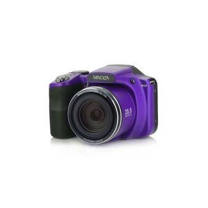 "Konica Minolta 20 Mega Pixels High Wi-Fi Digital Camera with 35x Optical Zoom, 1080p HD Video, 3"" LCD,  and 8GB SD (Purple) (Purple - Lithium - LCD)"