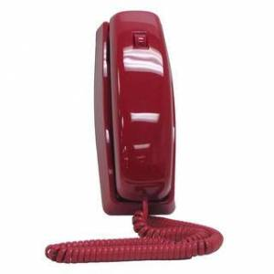 Cortelco Single Line 8150 Trendline Corded Phone (Red)