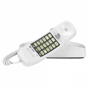 AT & T AT&T 210 Corded Trimline Phone with 13-number Memory