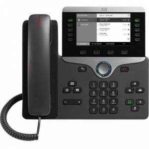 Cisco Systems 8811 IP Phone - Wall Mountable - Black