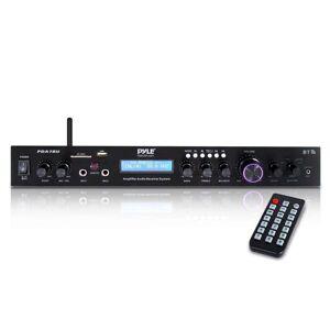 Pyle PDA7BU Home Theater Amplifier Audio Receiver System with Bluetooth Wireless Streaming, MP3/USB/SD/AUX/FM Radio 200 Watt