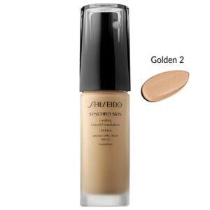 Shiseido Synchro Skin Lasting Liquid 1-ounce SPF20 Foundation (Golden 2)