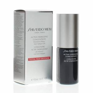 Shiseido Men Active Energizing Concentrate Intensive Lifting/Actif Energisant (Total Age-Defense)50ml (Anti-Aging)