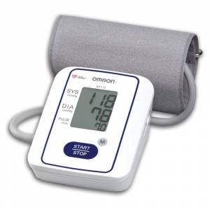 Omron Automatic BP Monitor with One-button Operation