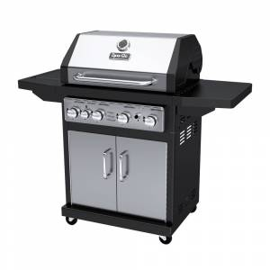 Dyna-Glo DGA480SSP-D Stainless Steel Outdoor 4-burner Gas Grill (stainless steel, 4 burner, gas grill)