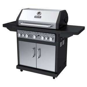 Dyna-Glo DGA550SSP-D Stainless Steel Outdoor 5-burner Gas Grill (stainless steel, 5 burner, gas grill)