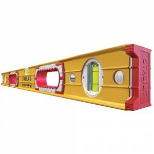 Stabila 37436 - 36-Inch Professional Builders Level - Red/White/Black/Yellow (Stabila 36-Inch Professional Builders Level)