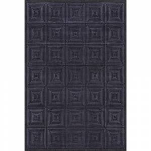 "Grand Bazaar Nahele Area Rug (Black/Charcoal 2'-10"" X 7'-10"")"