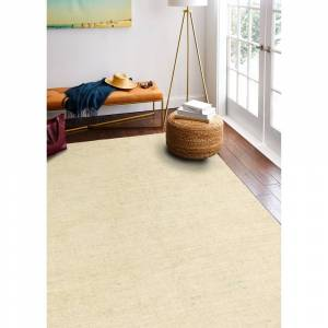 "Bashian Rugs Pensacola Transitional Hand Loomed Area Rug (Beige 5' x 7'6"")"