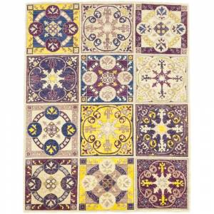 Overstock Traditional Oriental Serapi One-of-a-Kind Hand-Knotted Area Rug - Purple - 6 x 9 - 6 x 9 (6 x 9 - Purple)