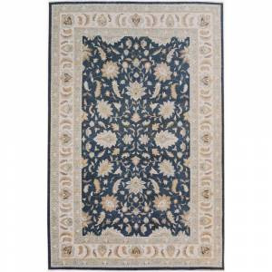 Arshs Fine Rugs Kafkaz Peshawar Rozella Charcoal/Ivory Hand-Knotted Rug (13'1 x 20'0) - 13 ft. 1 in. x 20 ft. 0 in. (Grey - 13 ft. 1 in. x 20 ft. 0 in.)