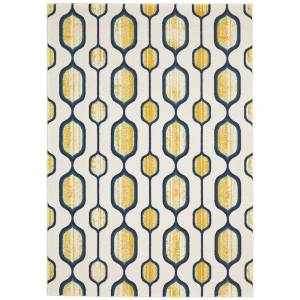 "Grand Bazaar Tirza Area Rug (Maize 2'-10"" X 7'-10"")"