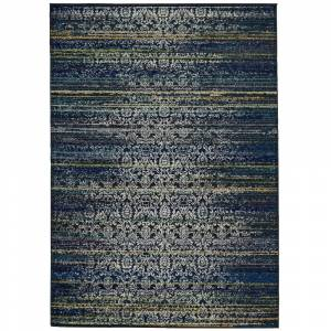 "Grand Bazaar Omari Area Rug (Midnight Blue 2'-10"" X 7'-10"")"